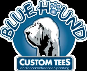 BlueHound Custom Tees Logo