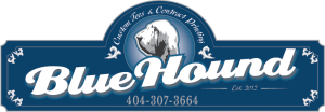 Blue Hound Sign